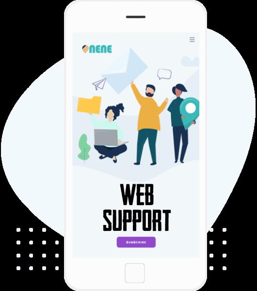 web support & Maintenance