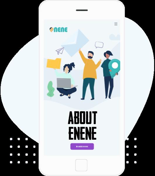 ABOUT ENENE WEB DESIGN